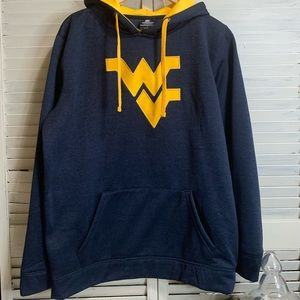 Colosseum Long sleeve WV Hoodie size large